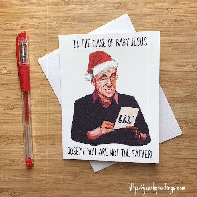 Funny Maury Christmas Card