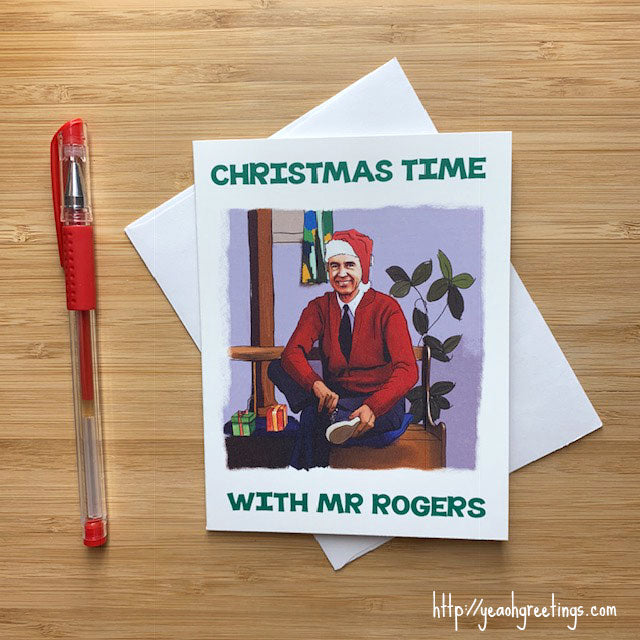 Mr Rogers Christmas Card