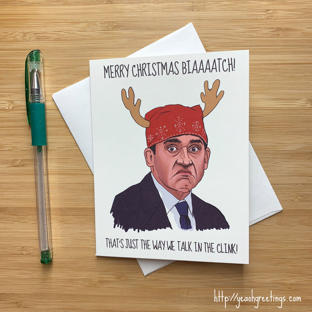 Prison Mike Christmas Card