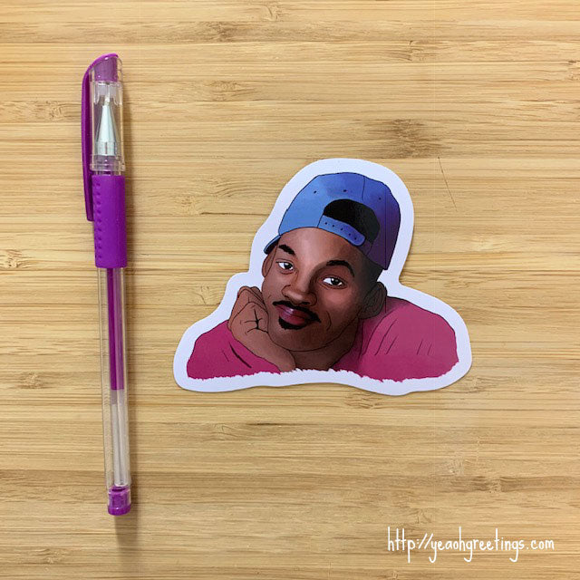 Fresh Prince Vinyl Sticker