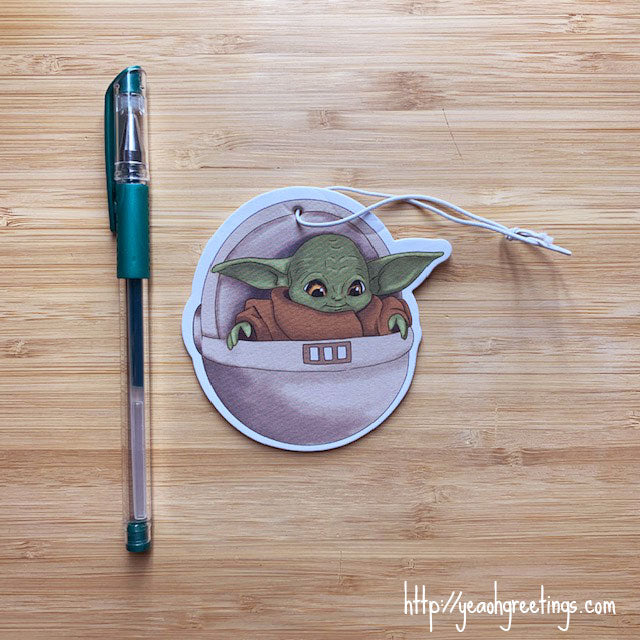 Star Wars Yoda Air Freshener