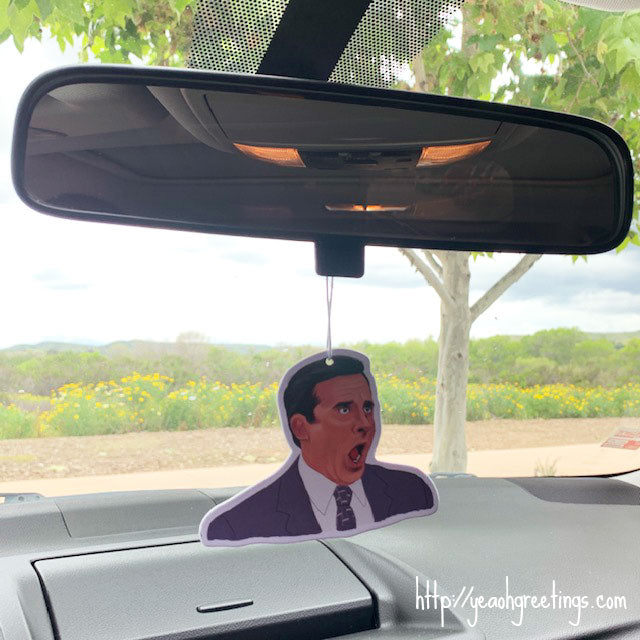 Michael Scott Air Freshener