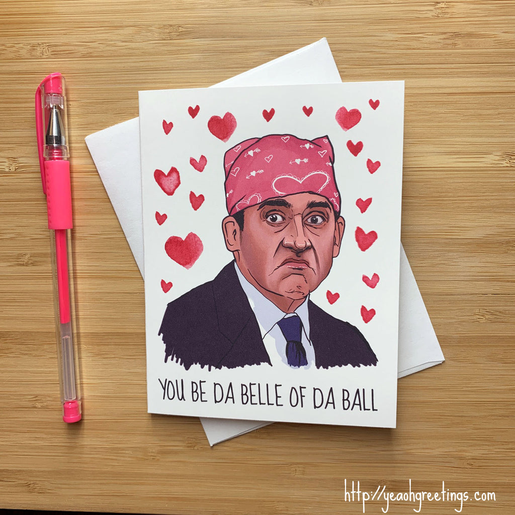 Prison Mike Love Card