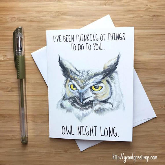 Owl Pun Love Card