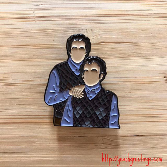 Step Brothers Soft Enamel Pin