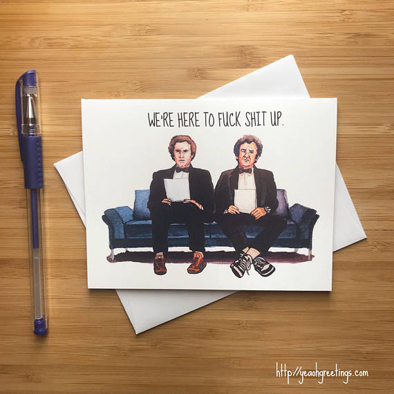 Step Brothers Friendship Card
