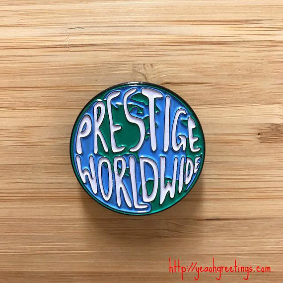 Prestige Worldwide Soft Enamel Pin