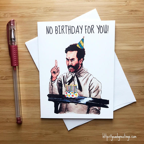 Soup Nazi Birthday Card
