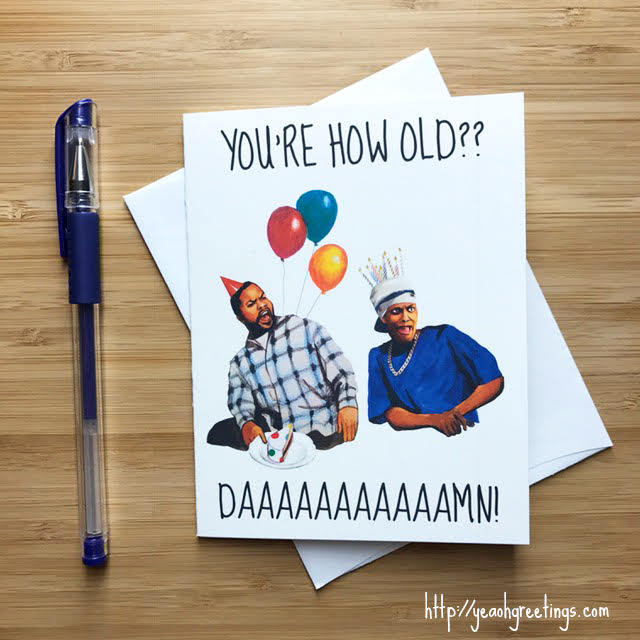 Friday the Movie Birthday Greeting Card