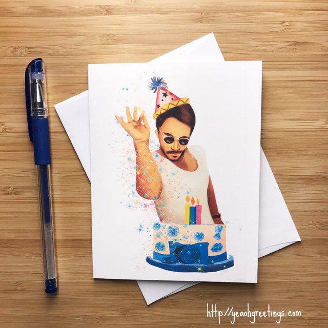 Saltbae Birthday Card