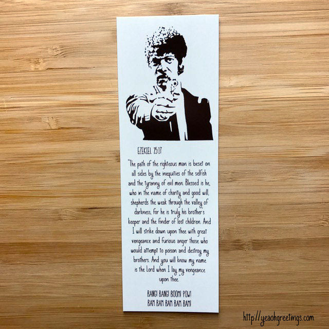Pulp Fiction Bookmark