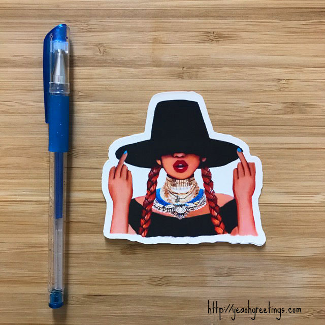 Beyonce Formation Sticker