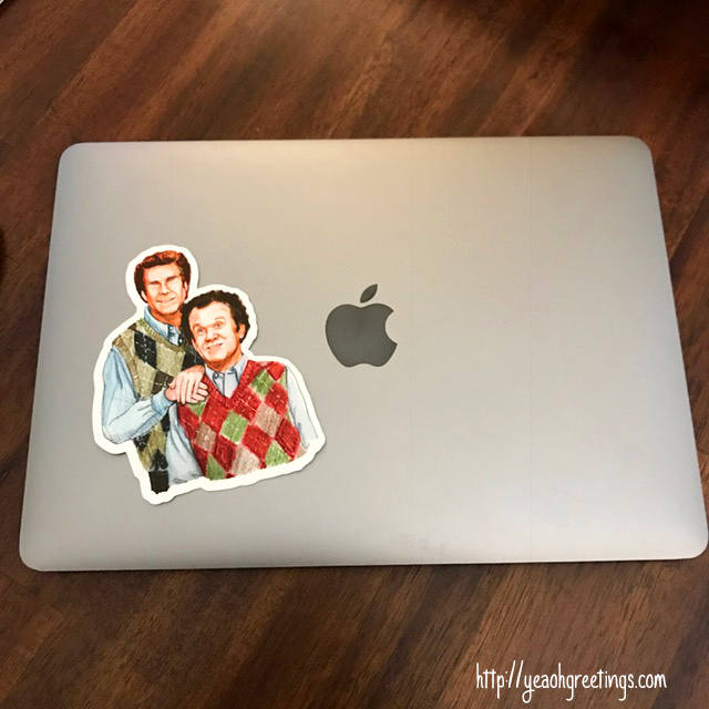 Step Brothers Vinyl Sticker