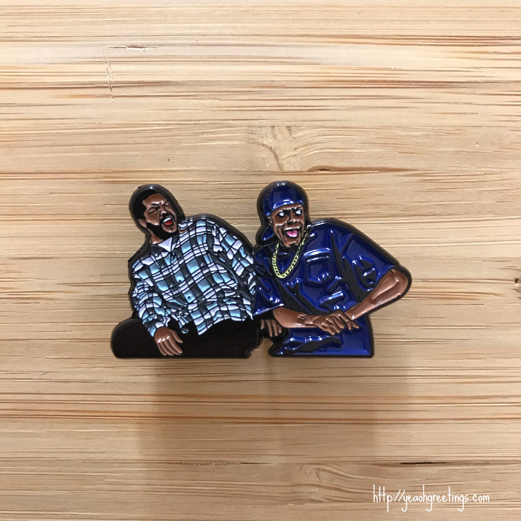 Friday Movie Enamel pin