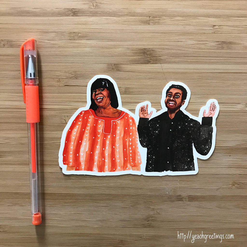 Parks and Rec Vinyl Sticker