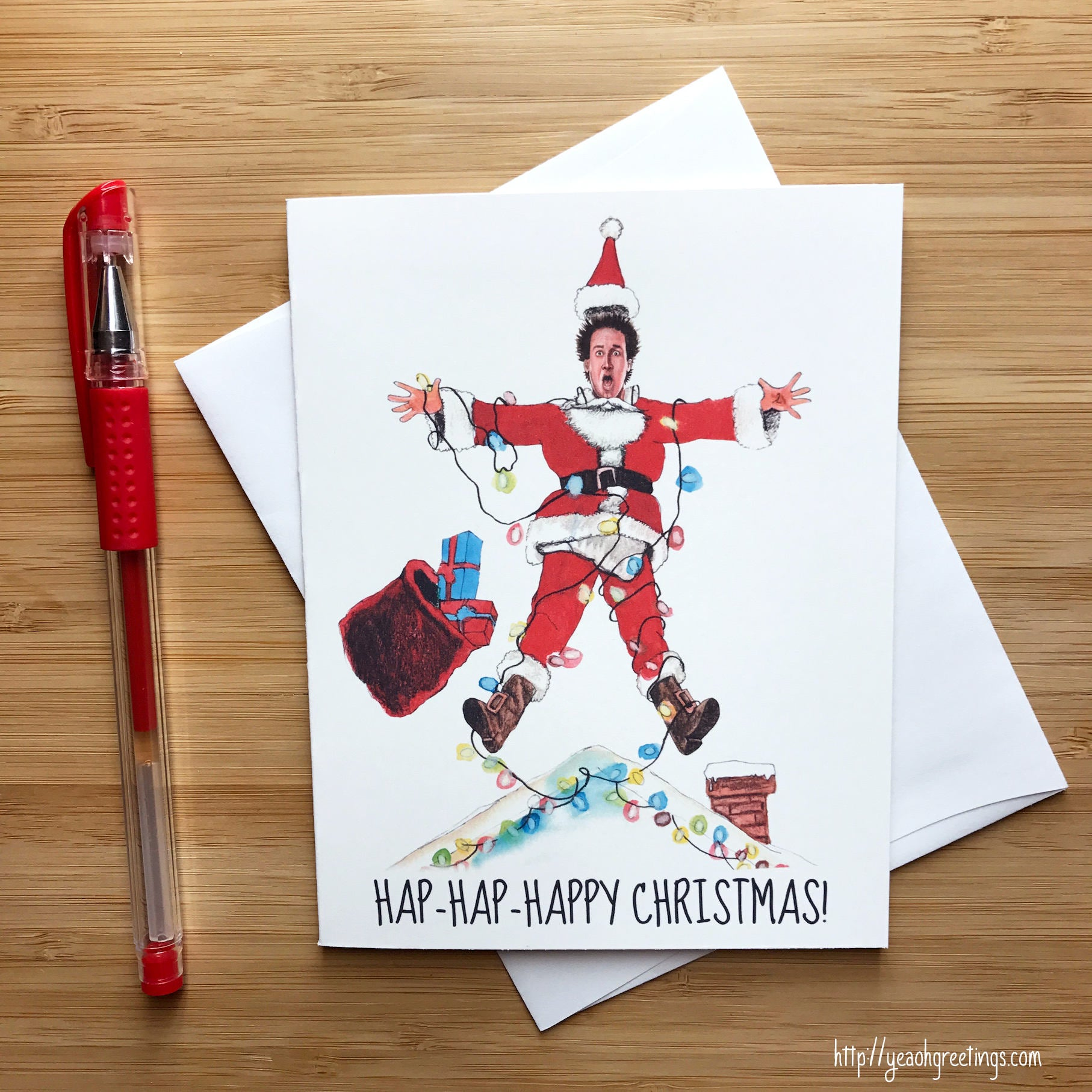 Clark Griswold Christmas Card, National Lampoon Christmas Vacation ...