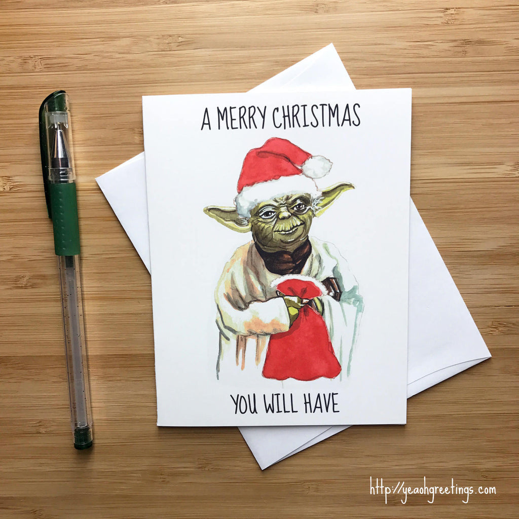 Yoda Star Wars Christmas Gift