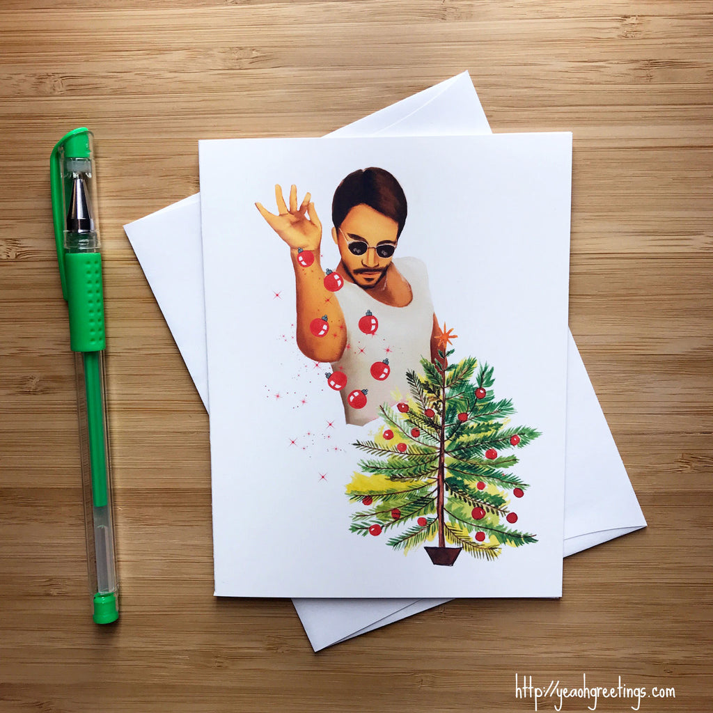 Saltbae Christmas Card