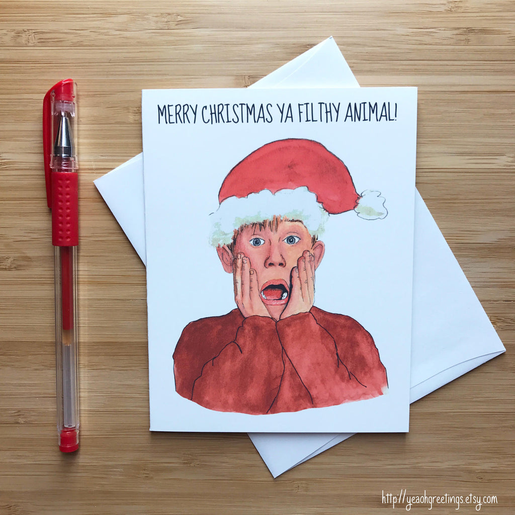 Home Alone Christmas Card