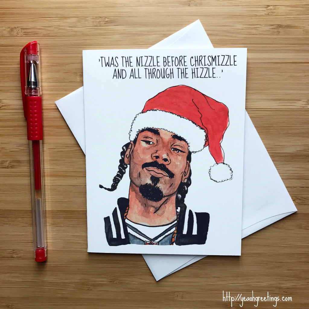 Snoop Dogg Christmas Card