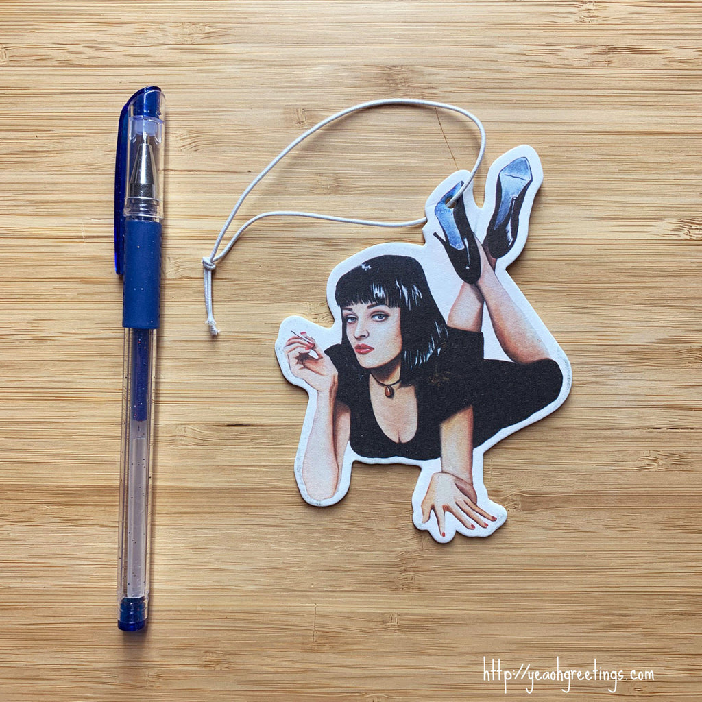 Mia Wallace Air Freshener