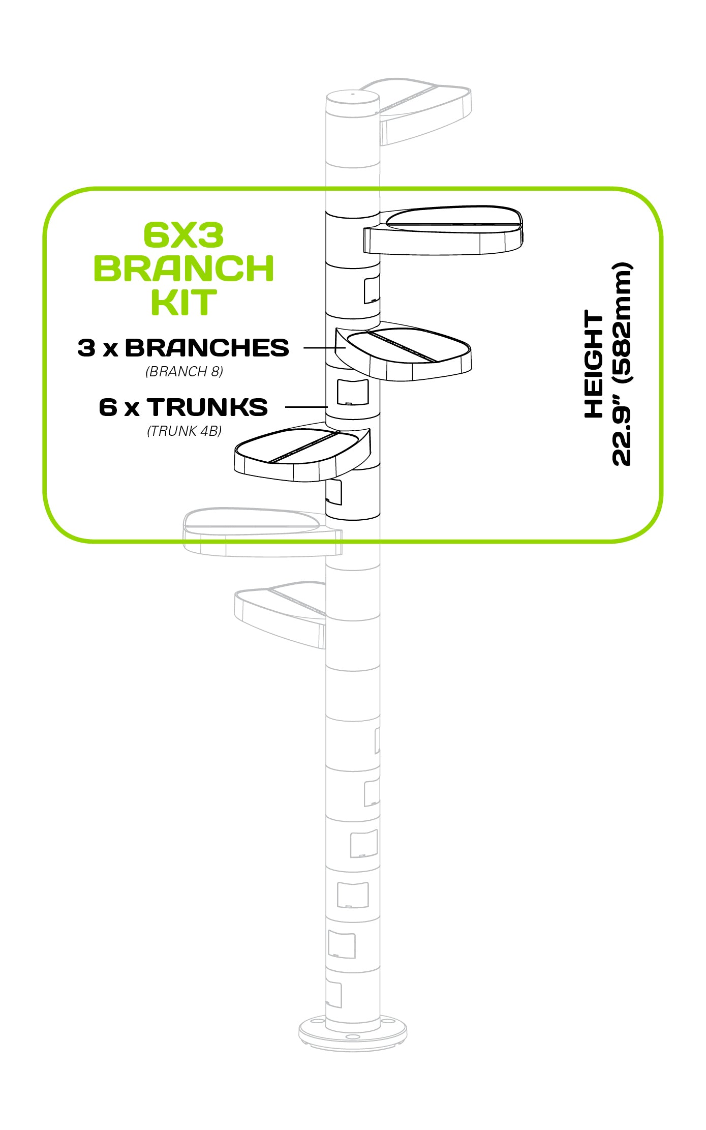 MonkeeTree Branch Kit
