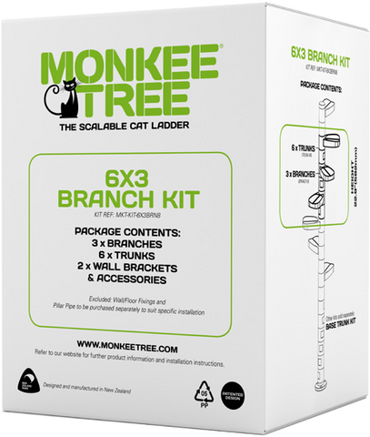 monkee tree scalable cat ladder branch kit