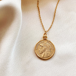 Frances Coin Necklace