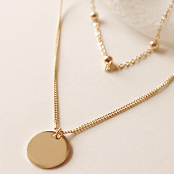 Cadence Layered Vermeil Necklace
