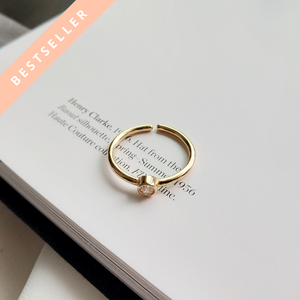 Jolie Vermeil Adjustable Ring