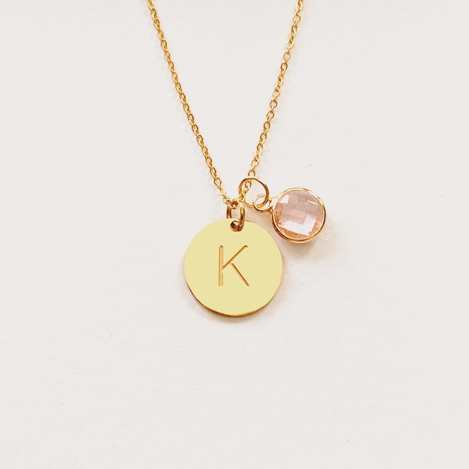 Idylle Initial Necklace 2.0