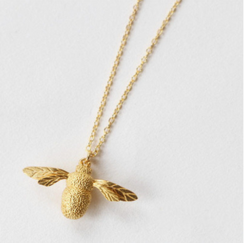 Queen Bee Vermeil Necklace