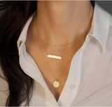 Verity Bar Necklace