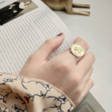 Jeune - Follow Your Dreams Vermeil Coin Ring