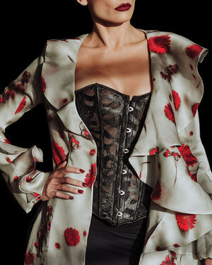 Crimson Poppy Eternal Spring Jacket