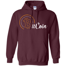Load image into Gallery viewer, Bitcoin Hoodie - Retro 2
