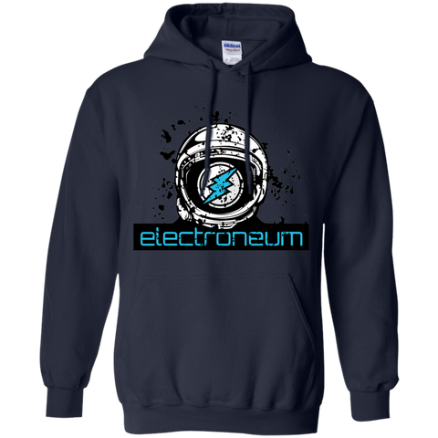 Electroneum Pullover Hoodie - Moon Man