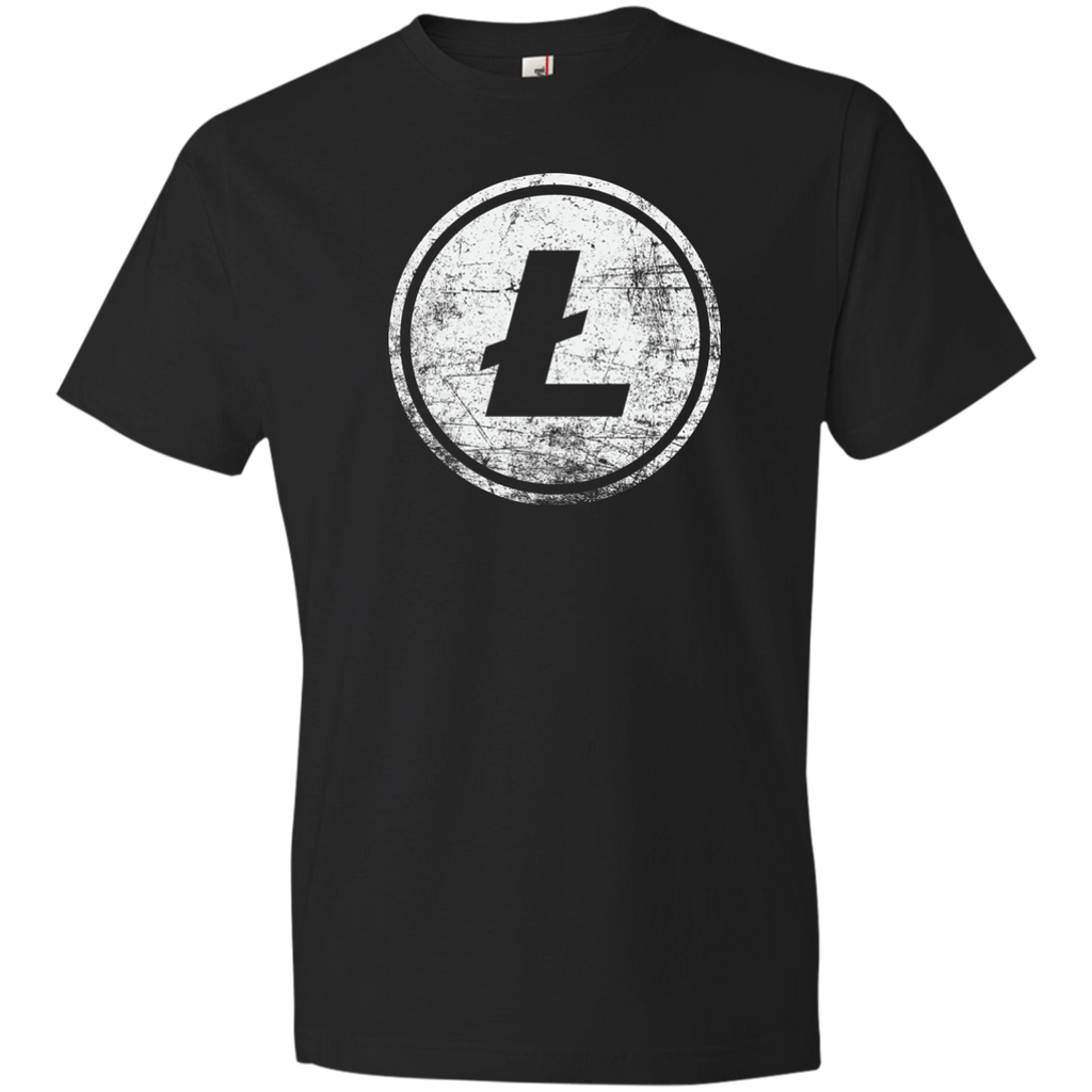 Litecoin T-Shirt Vintage / Distressed Light - Short Sleeve (Men's / Unisex)