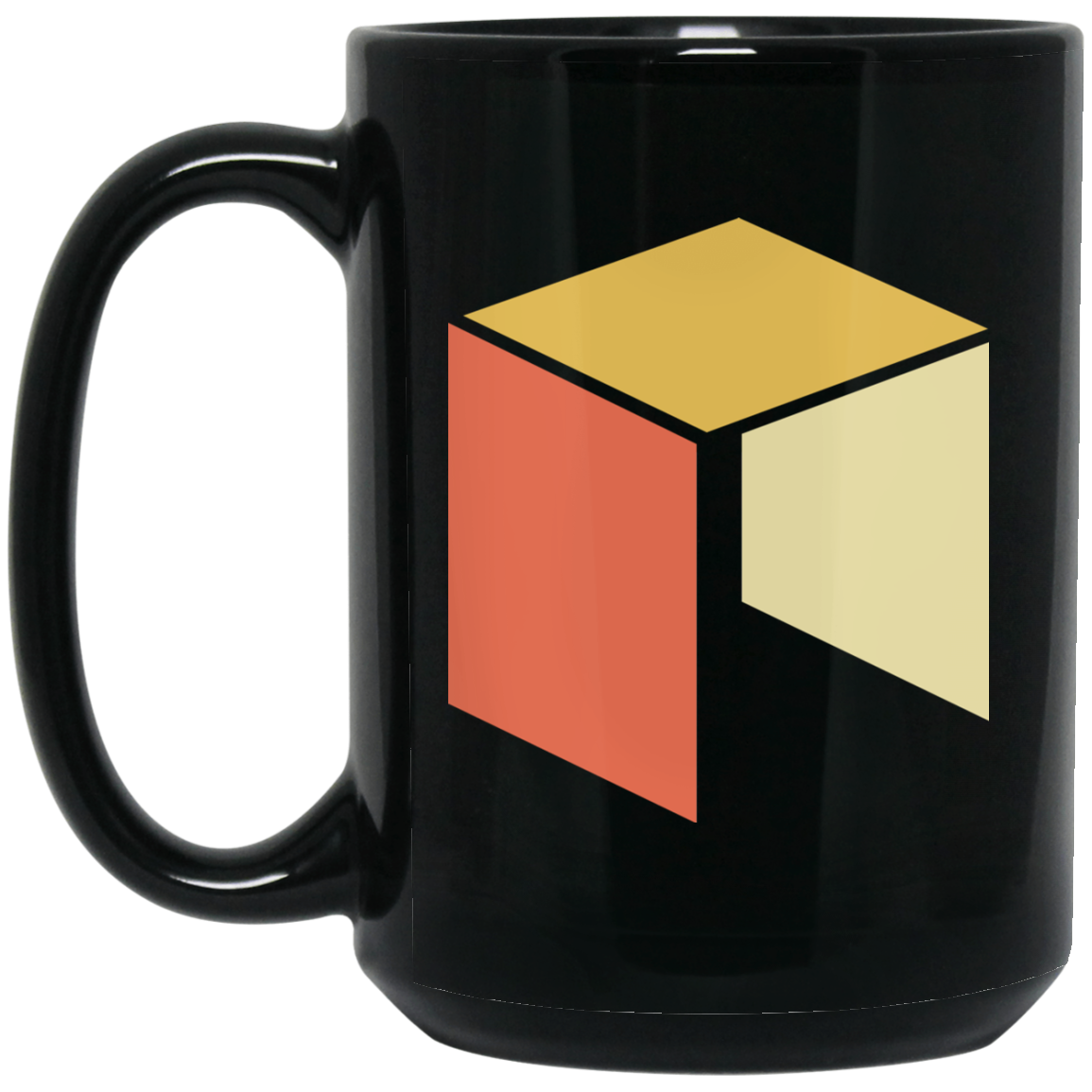Neo Black Coffee Mug