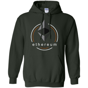 Ethereum Pullover Hoodie - Concentric