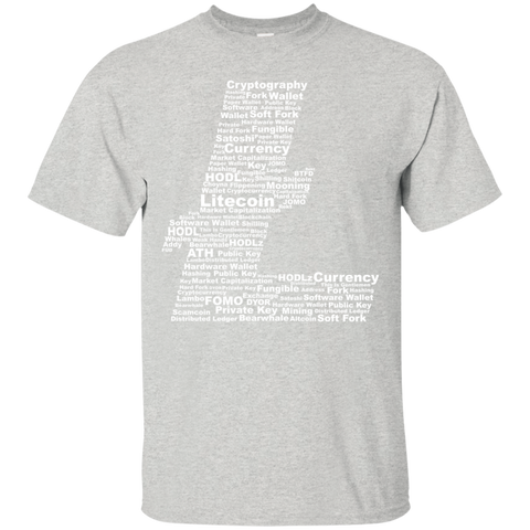 Litecoin T-Shirt - Words