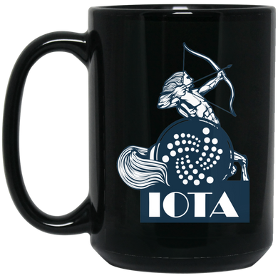 IOTA Coffee Mug - Black Pegasus