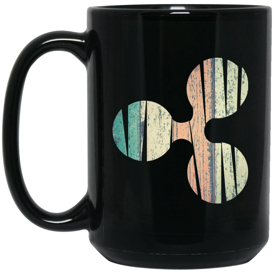 Ripple Black Coffee Mug - XRP