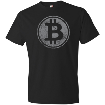 Bitcoin Distressed / Vintage T-Shirt - Short-Sleeve (Mens / Unisex)
