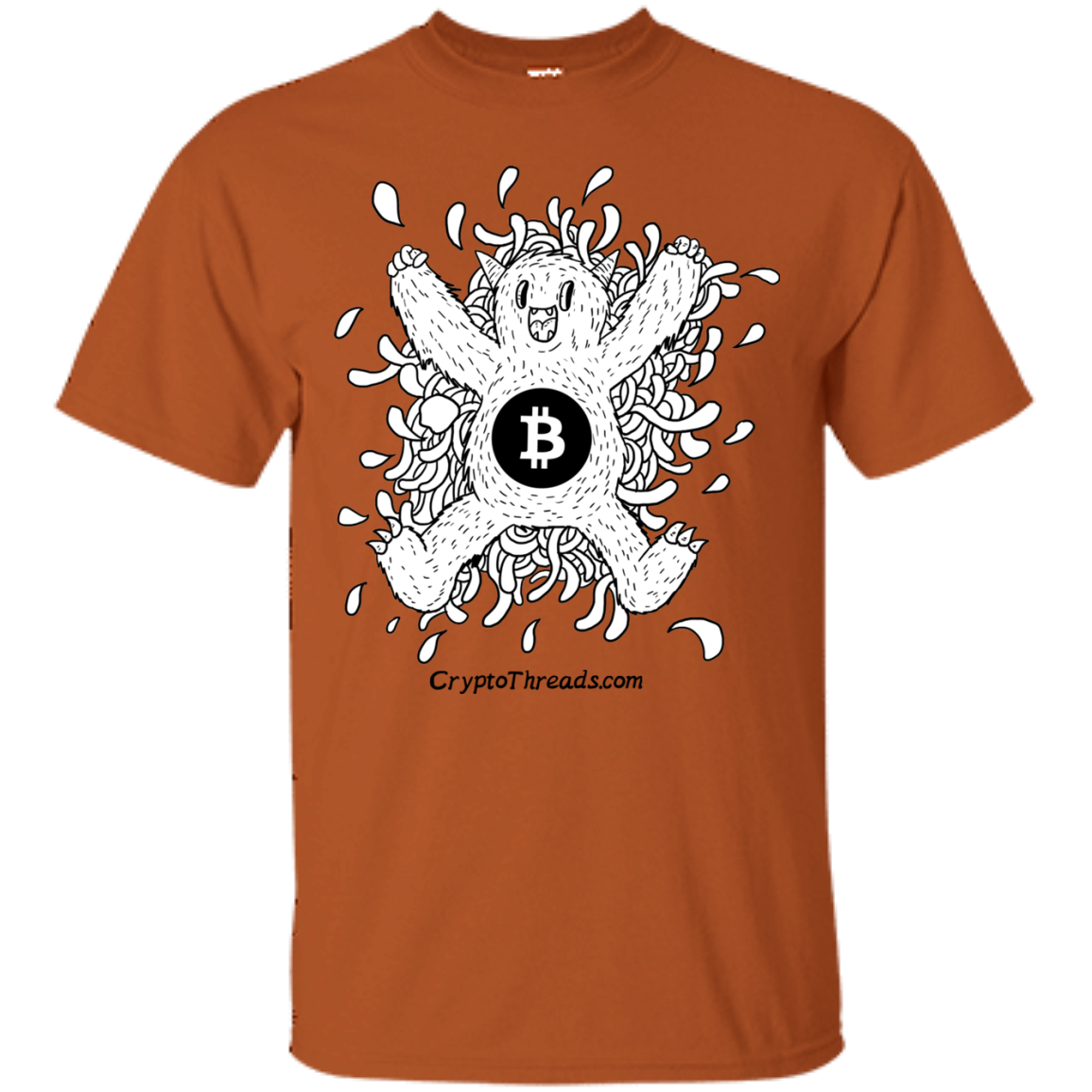 Bitcoin Monster T Shirt