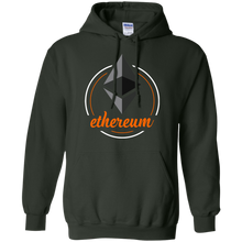 Load image into Gallery viewer, Ethererum Pullover Hoodie - Concentric Cursive