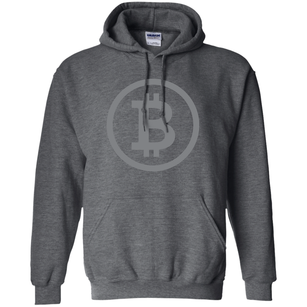 Bitcoin Classic Dark Pullover Hoodie