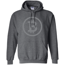 Load image into Gallery viewer, Bitcoin Classic Dark Pullover Hoodie