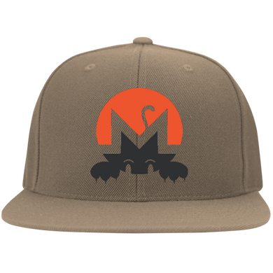 Monero Hat - Flexfit Flat Bill Twill Cap