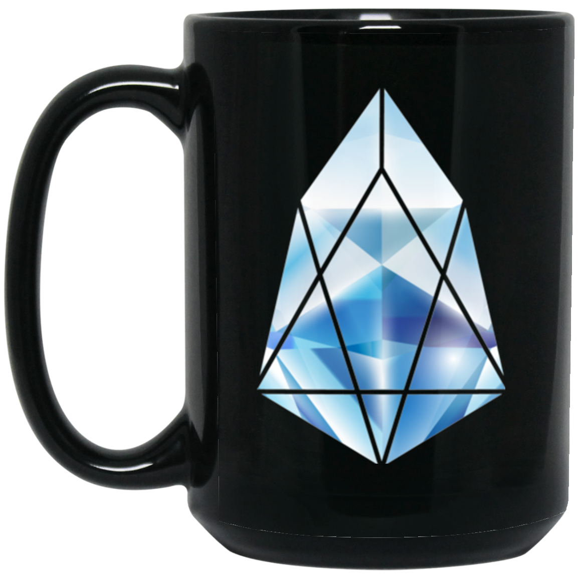 EOS Black Coffee Mug